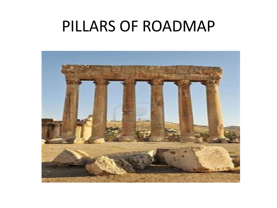 PILLARS OF ROADMAP