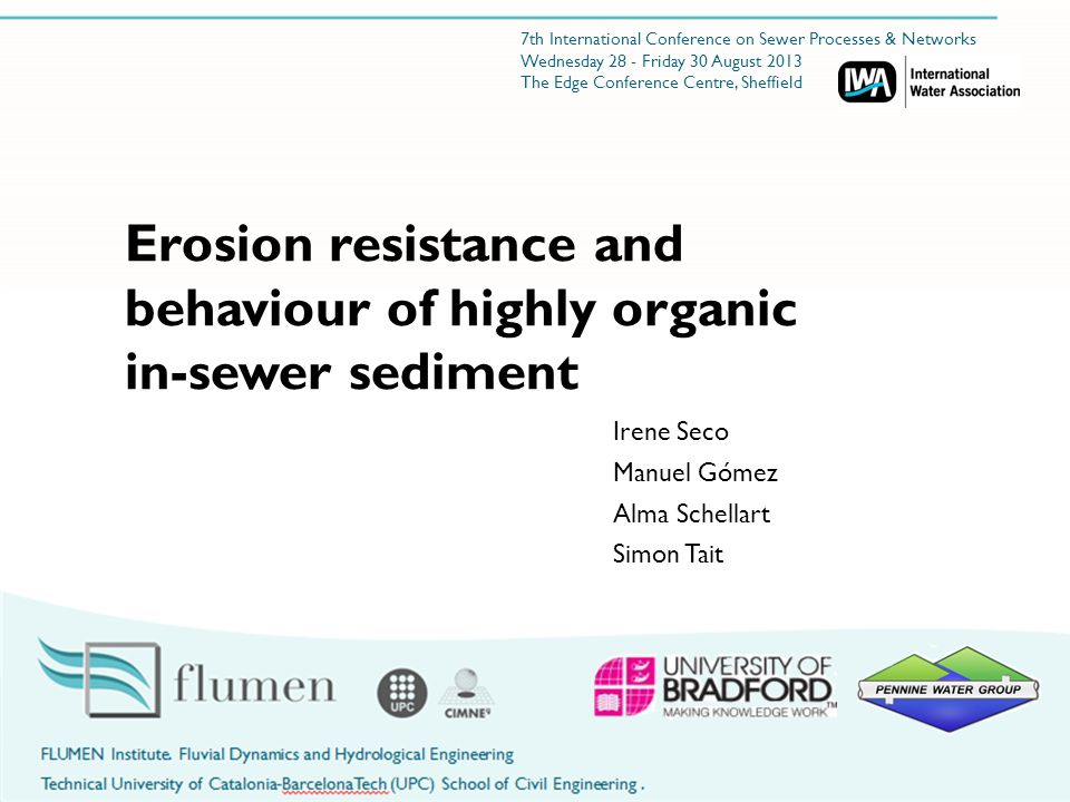 Real in sewer sediment characteristics Sediment collected from a sewer system (residential and commercial area in Catalonia, Spain)