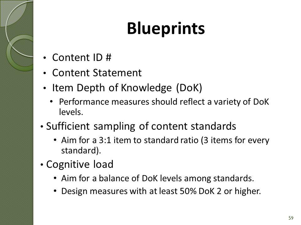 58 Blueprints