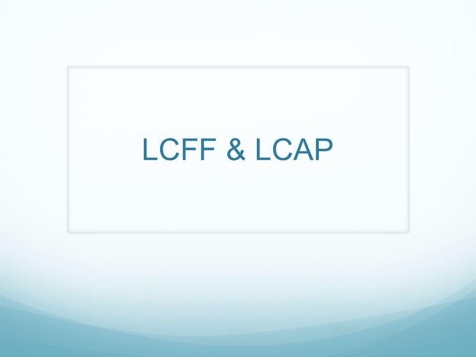 LCFF & LCAP