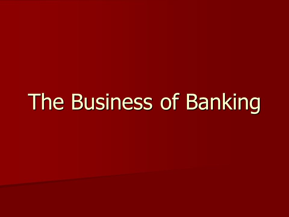 Optional video about banks titled History Channel Banks-Banking history Look for the following: When and where was the first bank formed in the US.