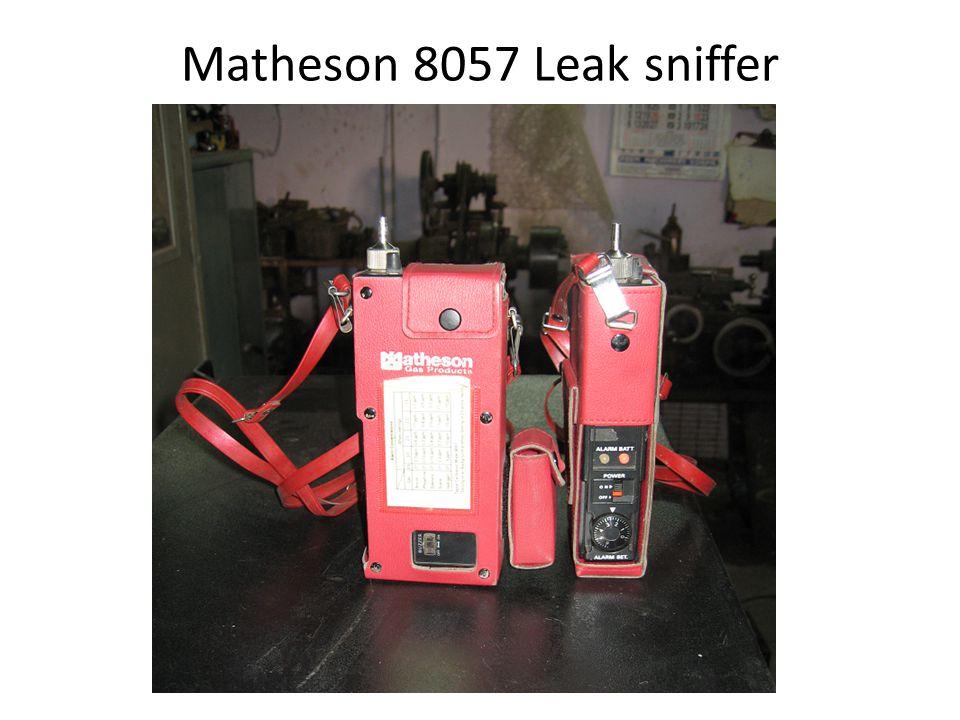 Matheson 8057 Leak sniffer
