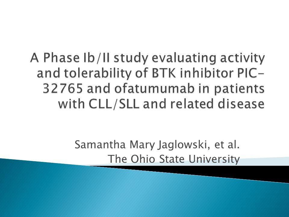 Samantha Mary Jaglowski, et al. The Ohio State University