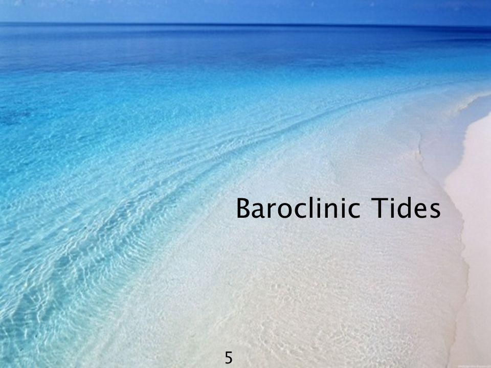 Baroclinic Tides 5