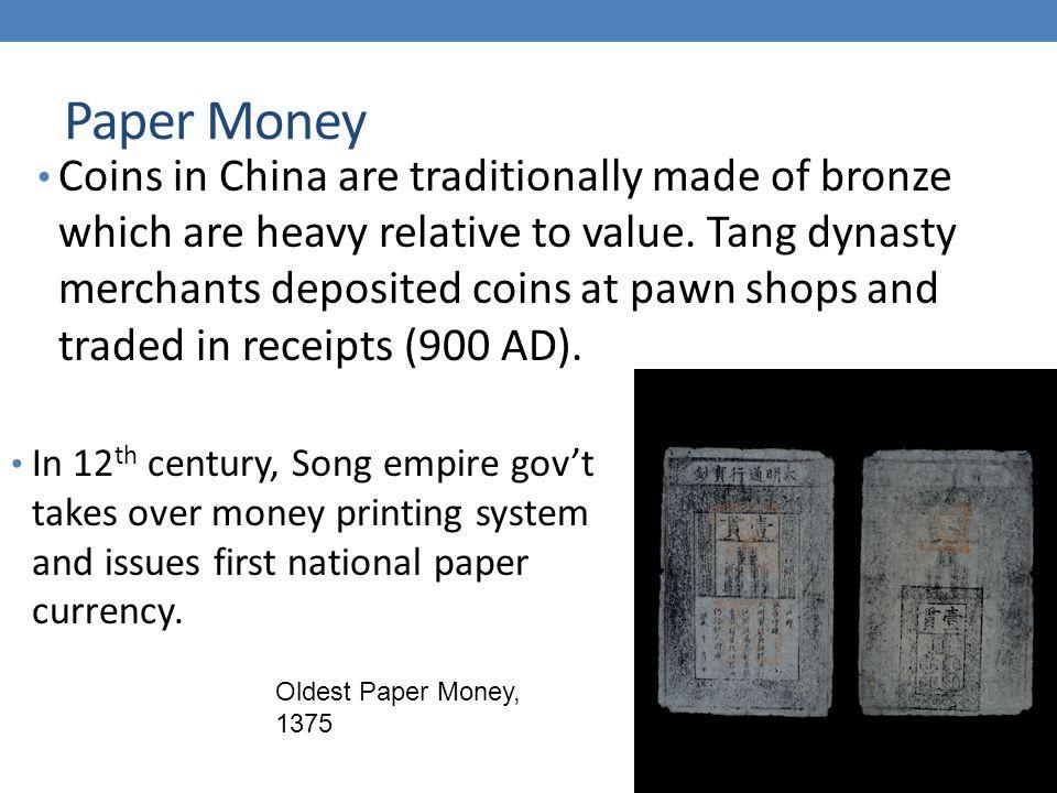 Categories of Money 2.
