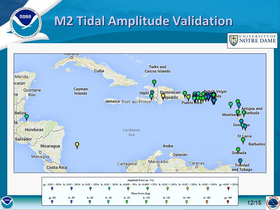 M2 Tidal Amplitude Validation 12/15