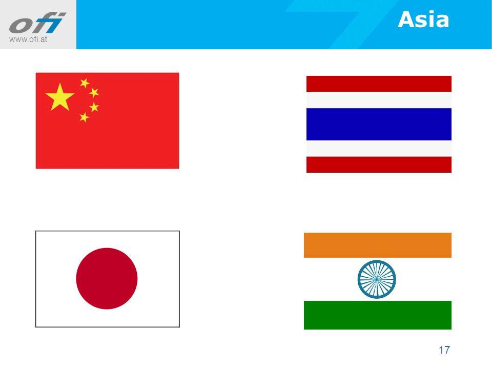 www.ofi.at 17 Asia