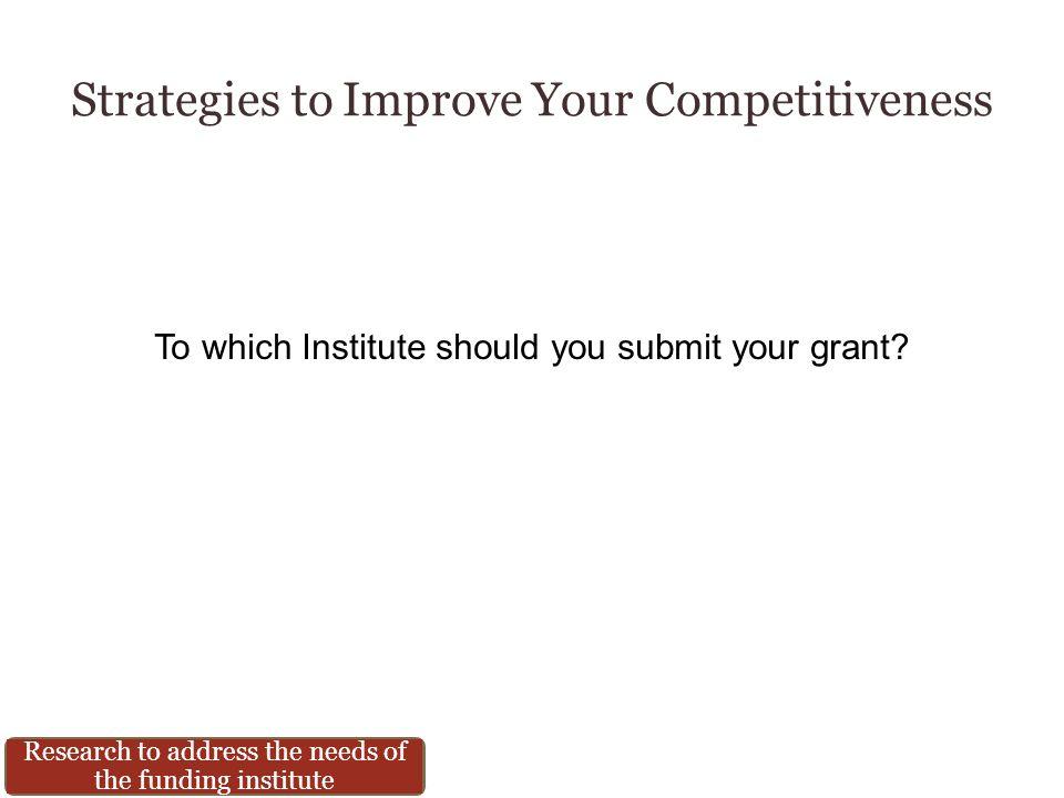 Strategies to Improve Your Competitiveness CRISP RePORTER