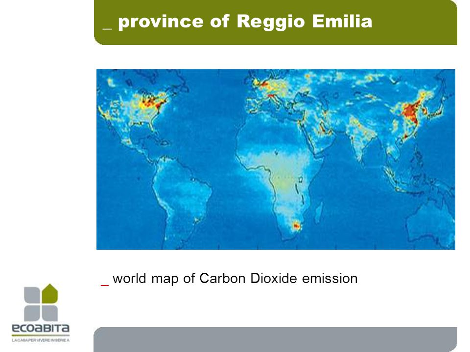 _ world map of Carbon Dioxide emission