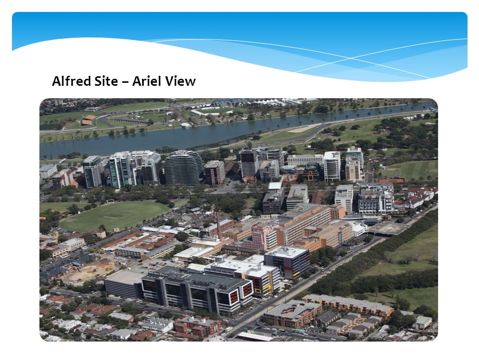 Alfred Site – Ariel View