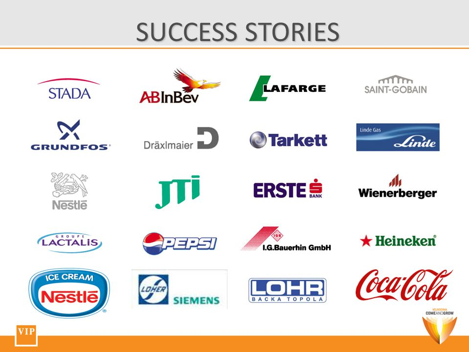 SUCCESS STORIES SUCCESS STORIES