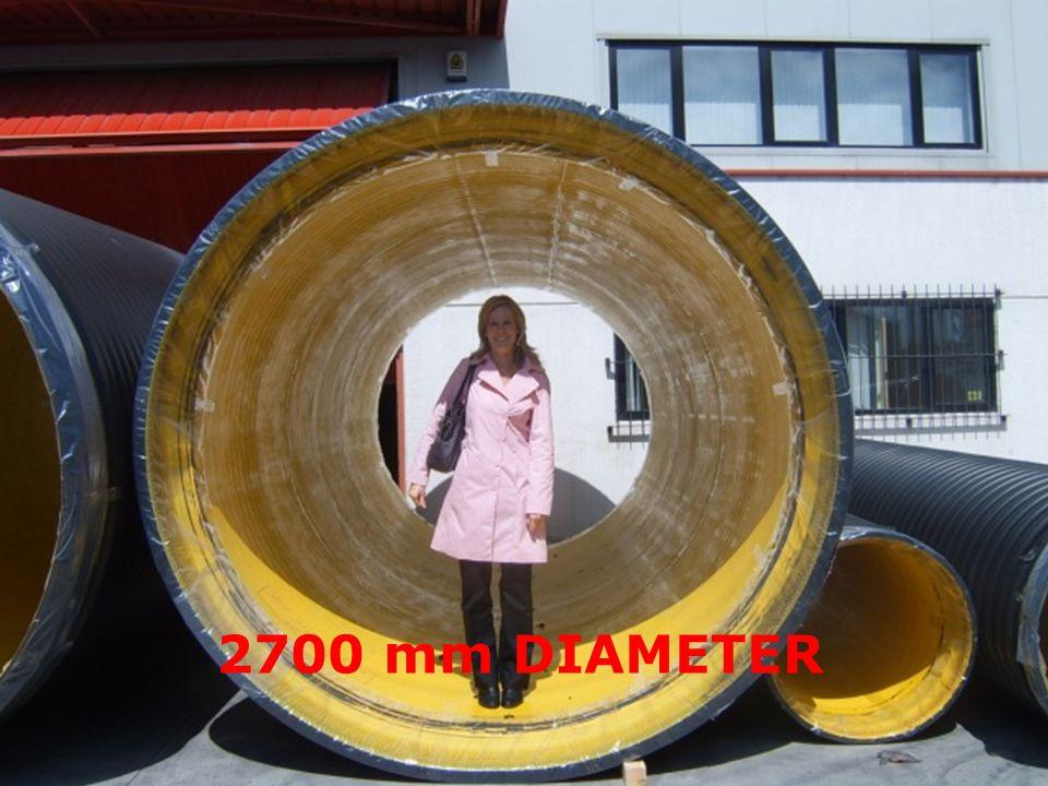 2700 mm DIAMETER
