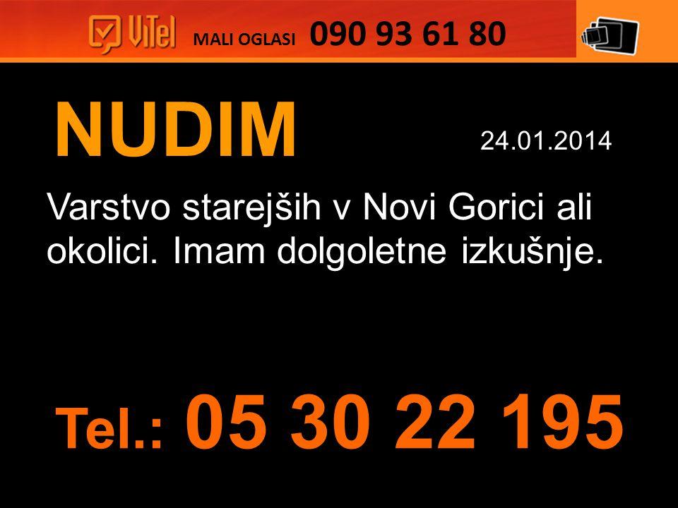 NUDIM Varstvo starejših v Novi Gorici ali okolici.