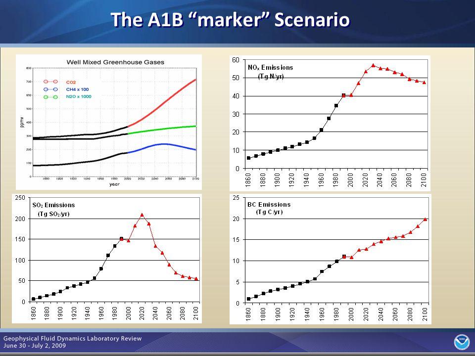 10 The A1B marker Scenario