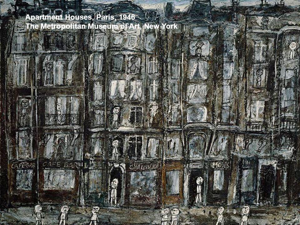 Apartment Houses, Paris, 1946 The Metropolitan Museum of Art, New York