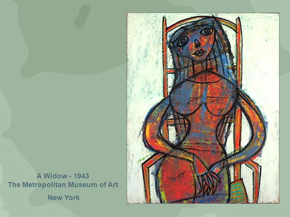 A Widow - 1943 The Metropolitan Museum of Art New York