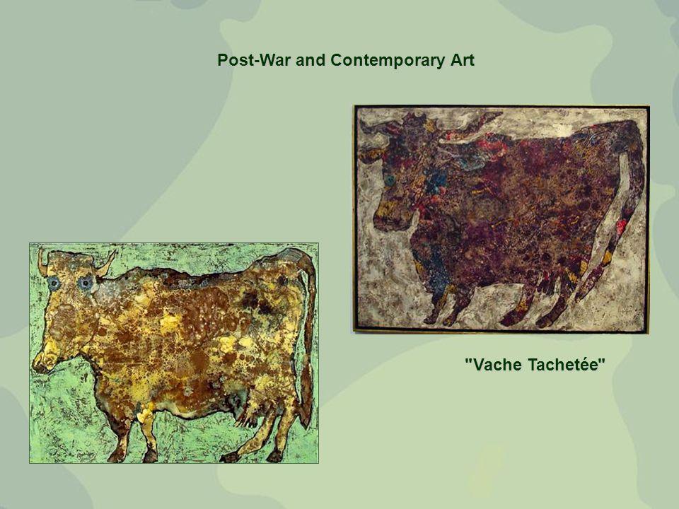 Post-War and Contemporary Art Vache Tachetée