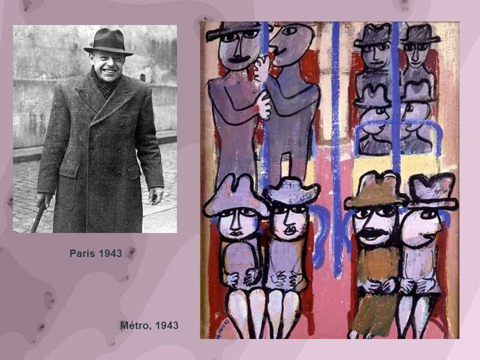 Métro, 1943 Paris 1943