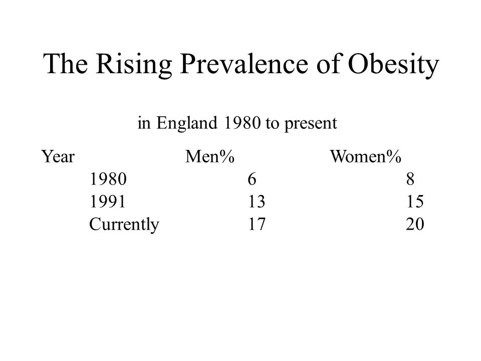 Tackling Obesity Population based or public health approach Personal or high risk approach