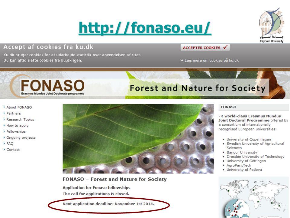 http://fonaso.eu/ 16 April 201518