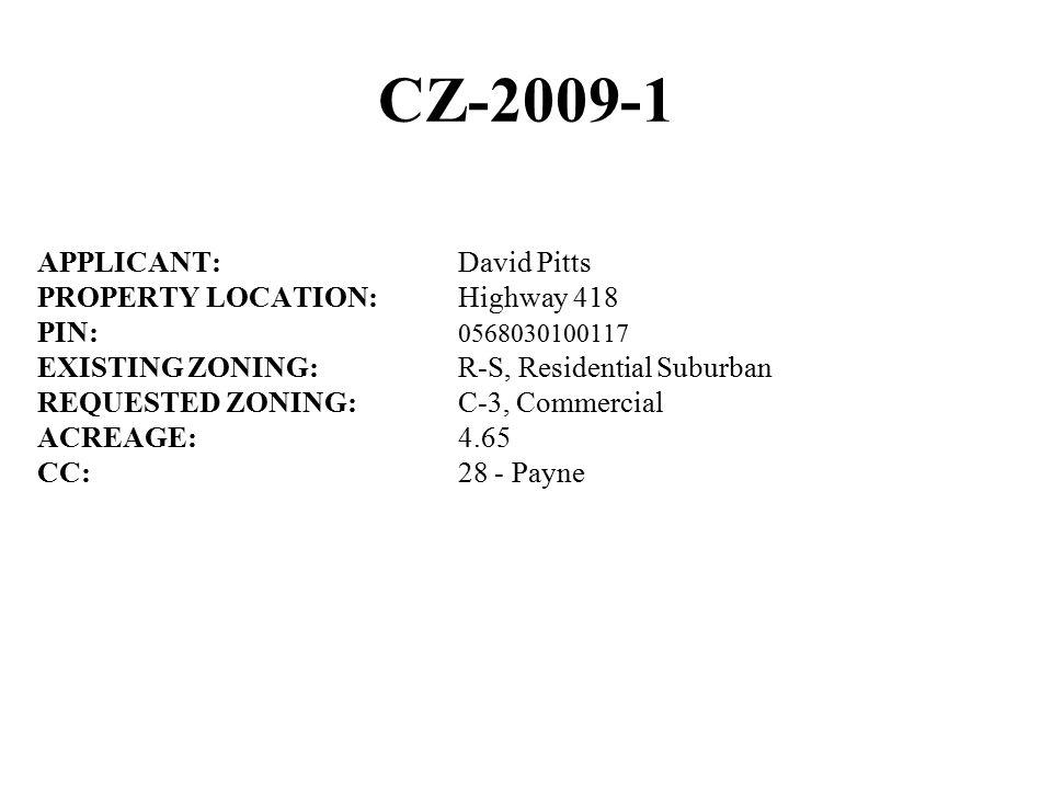 CZ-2009-3 Greenville City Limits