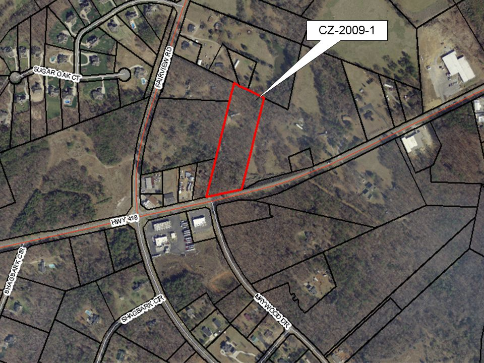 CZ-2009-7 Cherrydale Area Plan Adopted by County Council on August 8, 2008