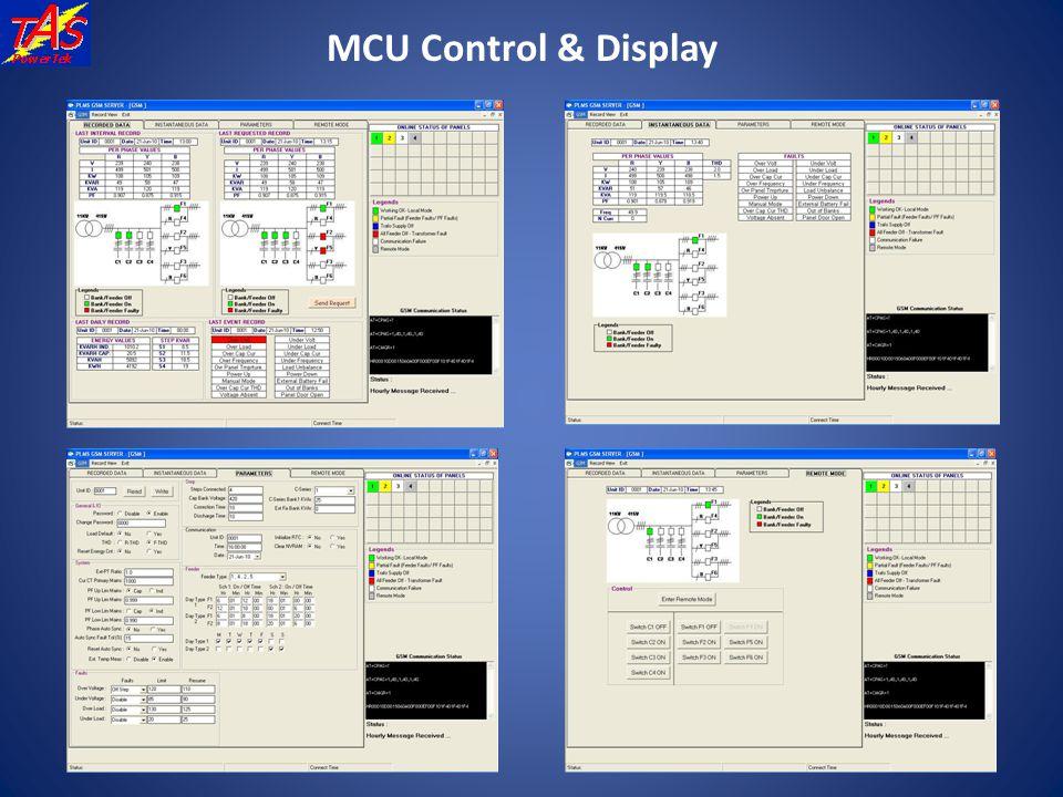 MCU Control & Display