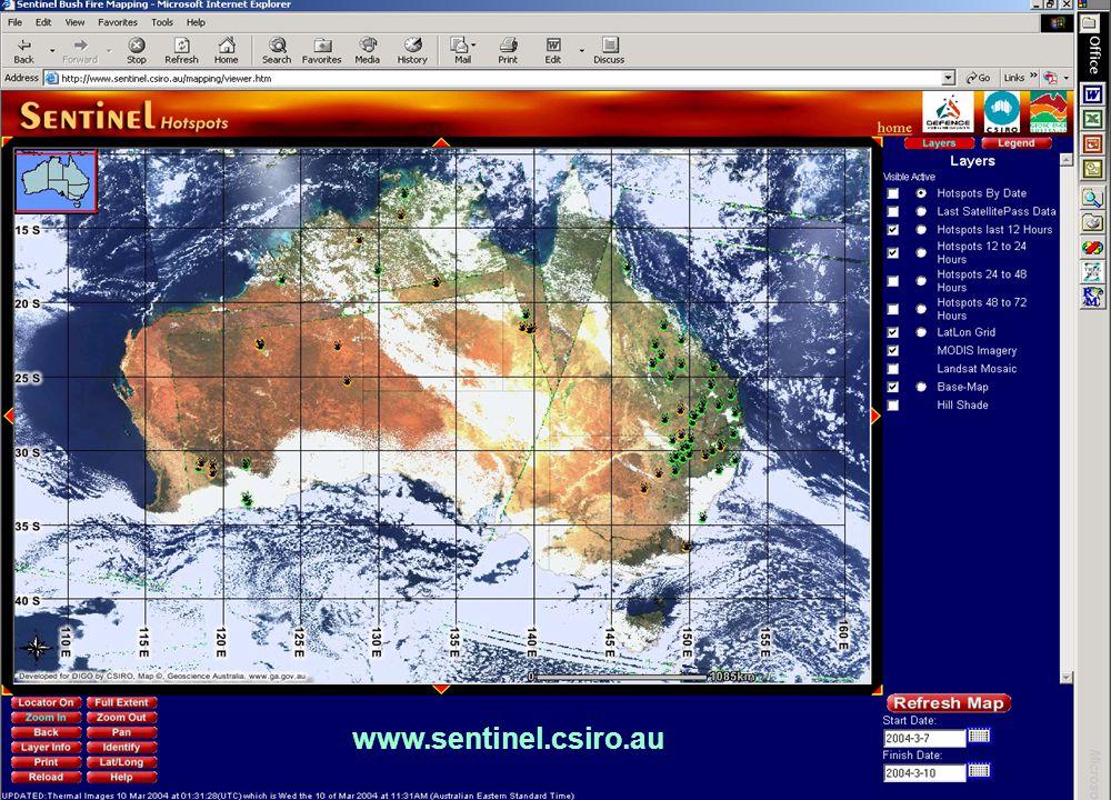 www.sentinel.csiro.au