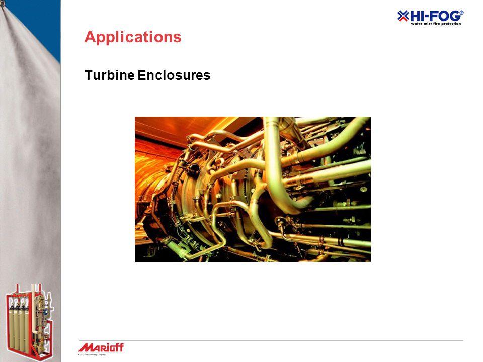 Applications Turbine Enclosures