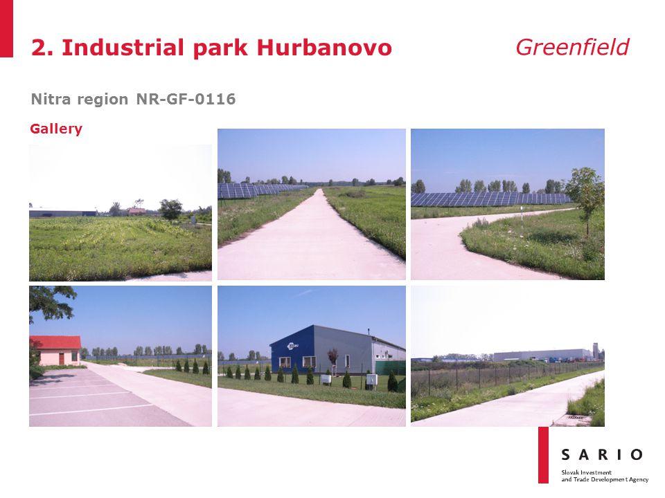 2. Industrial park Hurbanovo Nitra region NR-GF-0116 Greenfield Gallery