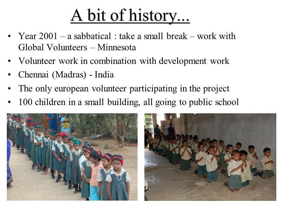 A bit of history...