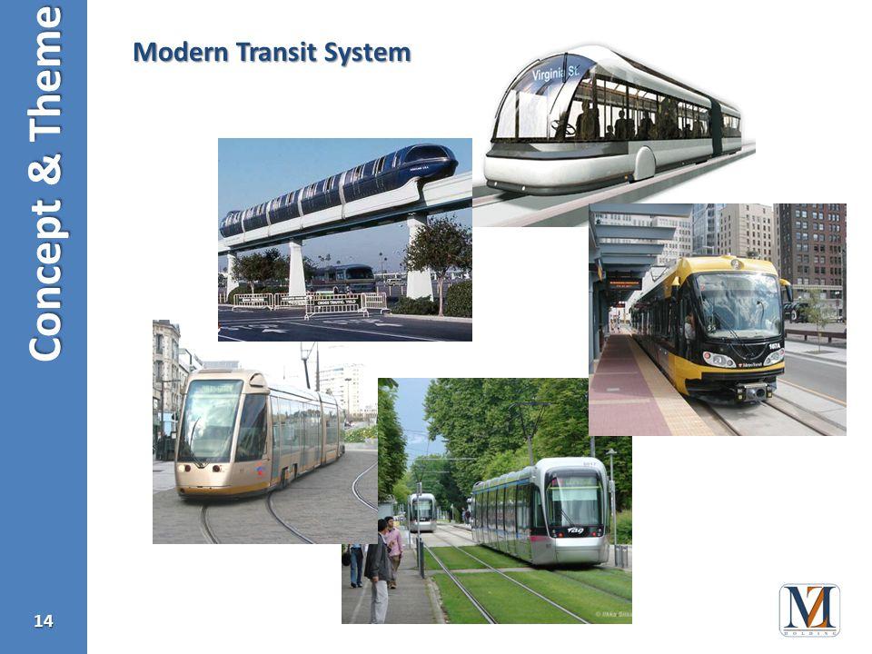 Concept & Theme 14 Modern Transit System