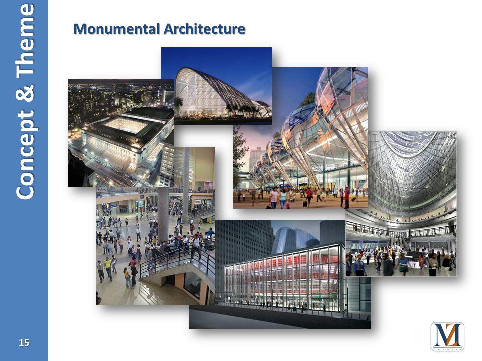 Concept & Theme 15 Monumental Architecture