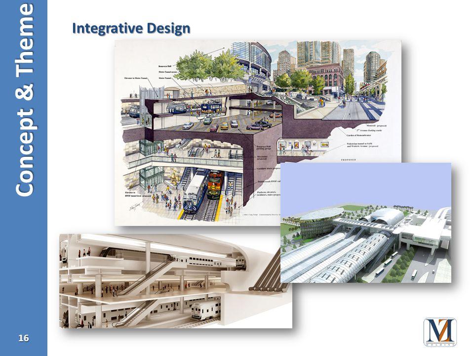 Concept & Theme 16 Integrative Design