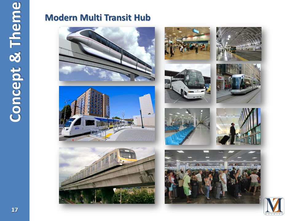 Concept & Theme 17 Modern Multi Transit Hub