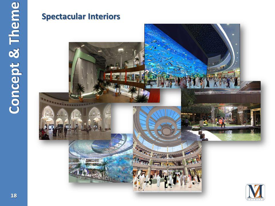 Concept & Theme 18 Spectacular Interiors