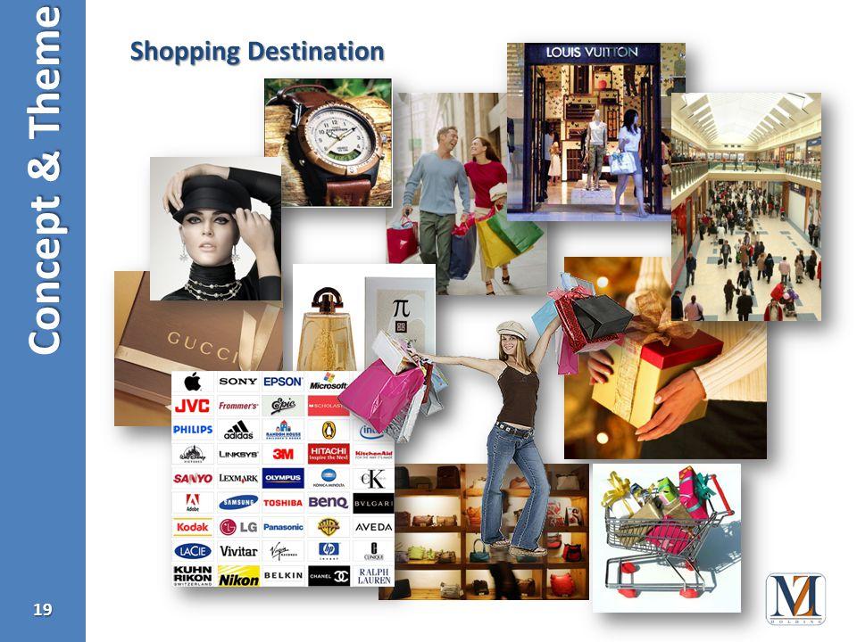 Concept & Theme 19 Shopping Destination