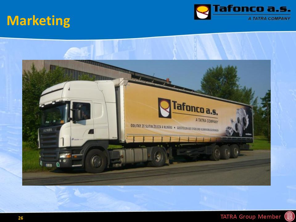 Marketing TATRA Group Member 26