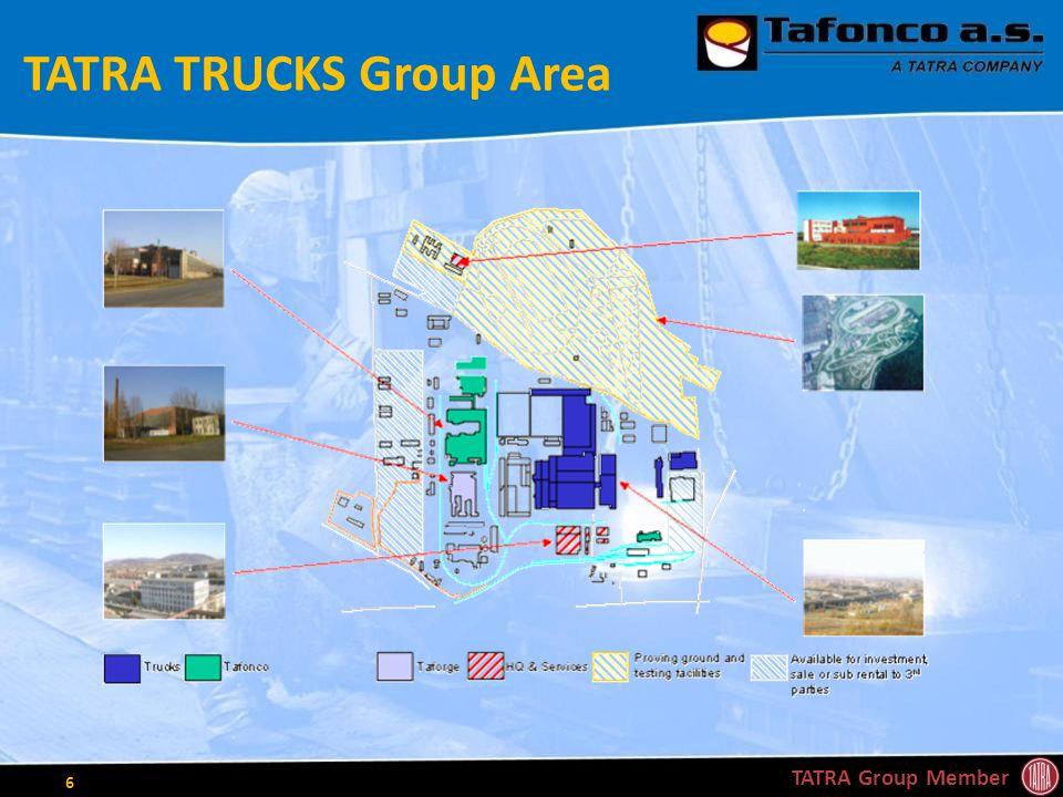 TATRA TRUCKS Group Area TATRA Group Member 6