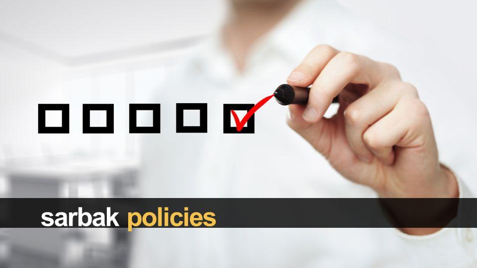 sarbak policies