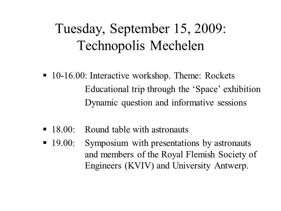 Wednesday, September 16, 2009: Liège and Transinne  a.m.