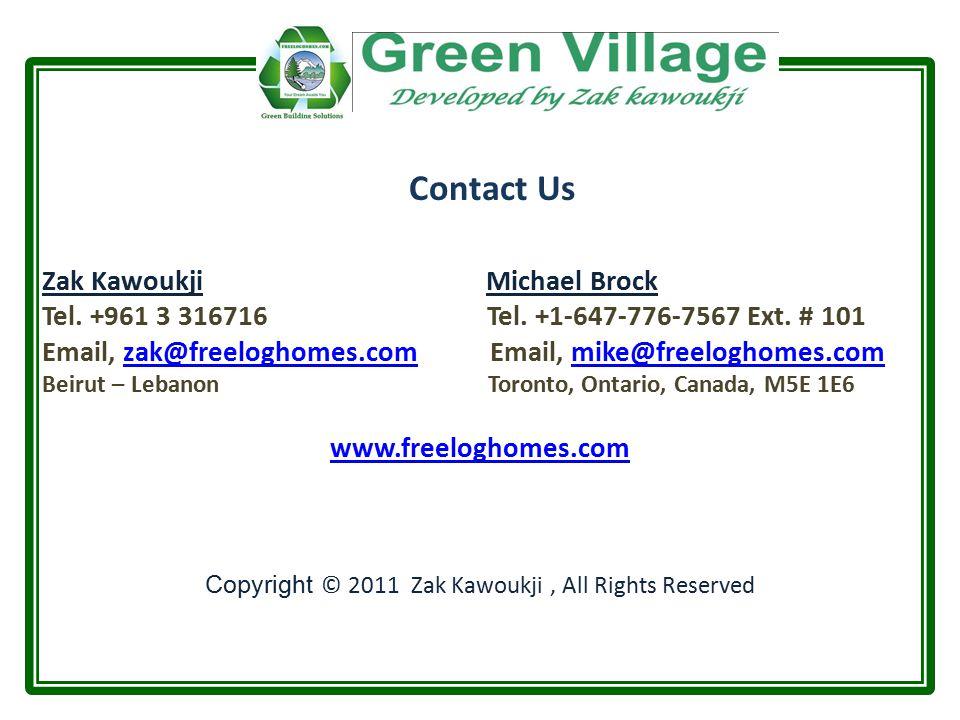 Zak Kawoukji Michael Brock Tel. +961 3 316716 Tel.