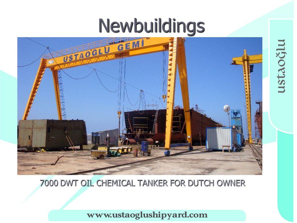 Newbuildings Newbuildings 7000 DWT OIL CHEMICAL TANKER FOR DUTCH OWNER