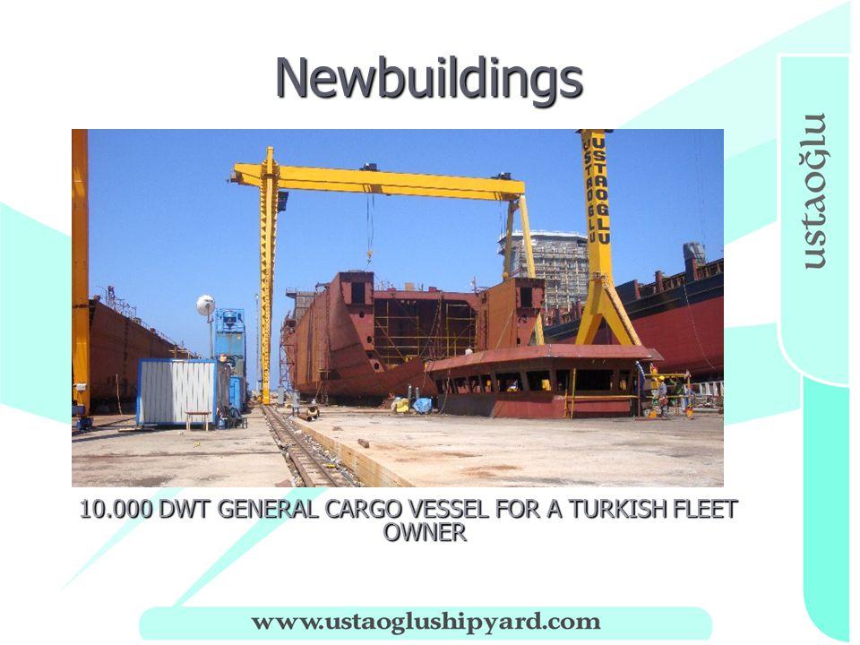 Newbuildings Newbuildings 10.000 DWT GENERAL CARGO VESSEL FOR A TURKISH FLEET OWNER
