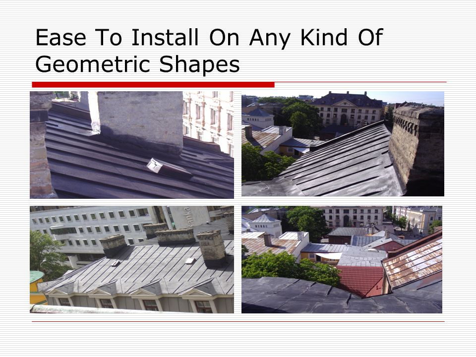 Ease To Install On Any Kind Of Geometric Shapes