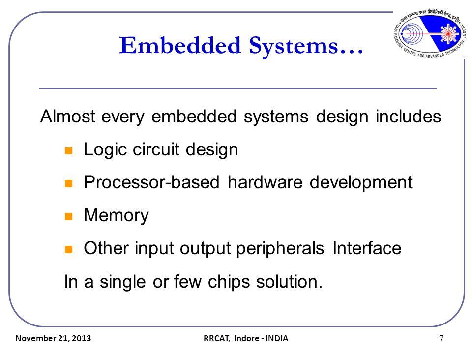 November 21, 2013 38 Decoupling Capacitors… How to customize FPGA Boards.