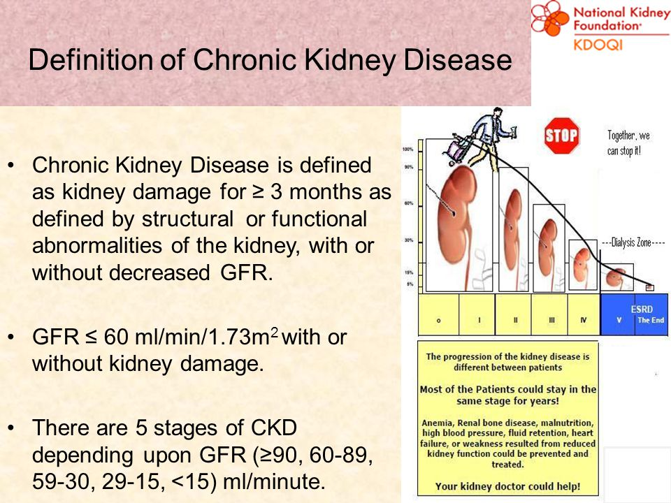 What Problems Are Unique To Patients with CKD.3. Poor nutrition in general.