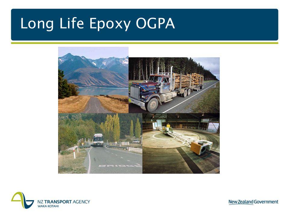 Long Life Epoxy OGPA