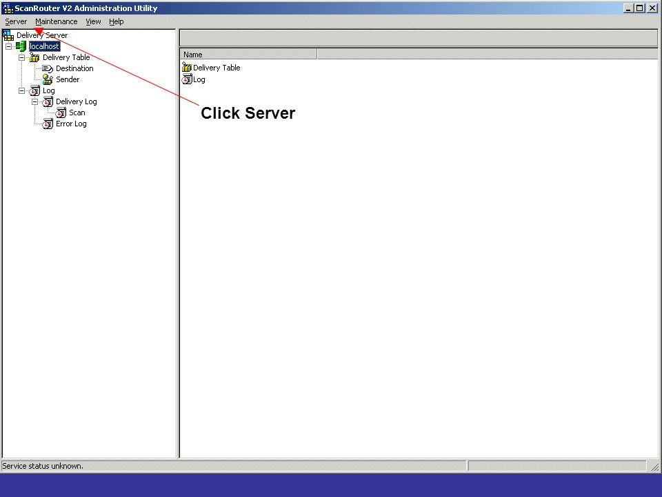 Click Server