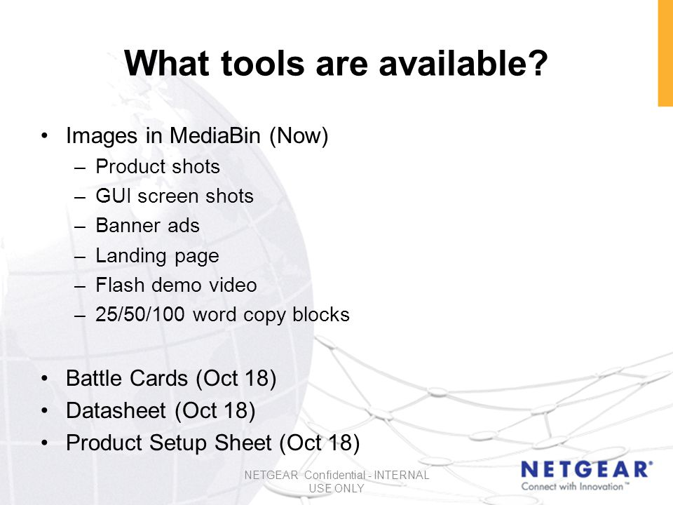 What tools are available.